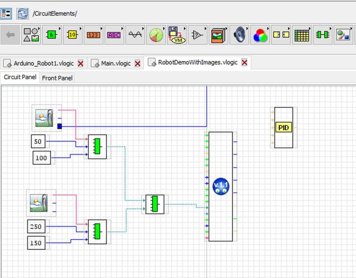 Free programs with the look of LabVIEW