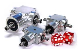 New miniature spiral bevel gearboxes from Gam