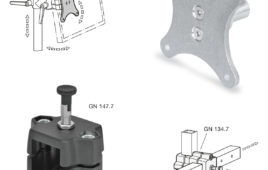 Tube clamp connectors range consistently extended